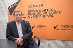 Владимир Лепехин в гостях у радио Sputnik Армения