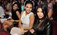 Звезда реалити-шоу Ким Кардашьян и ее сестра модель Кендалл Дженнер