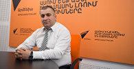 Мнацакан Бичахчян в гостях у радио Sputnik Армения