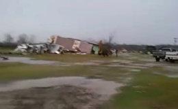 Последствия торнадо на юго-востоке США