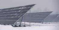 Открытие новой солнечной электростанции