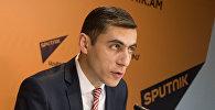 П/к Гагика Суреняна в пресс-центре Sputnik Армения