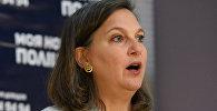 Бывший помощник госсекретаря США Виктория Нуланд в Киеве