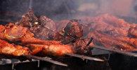 Фестиваль шашлыка в Ахтале