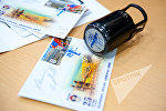 Гашение марок, посвященных 25-летию формирования армянской армии