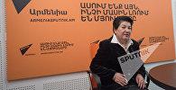 Рима Варжапетян в гостях у радио Sputnik Армения