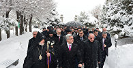 Президент Серж Саргсян посетил пантеон Ераблур