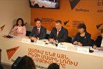 В Sputnik Армения состоялась пресс-конференция, приуроченная к старту приема заявок на обучение в российских вузах за счет средств федерального бюджета в 2017-2018 учебном году