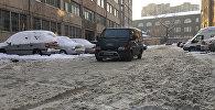 Ереванские дворы проходят испытание зимой