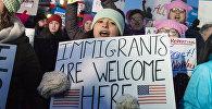Протесты в США, против миграционной политики Дональда Трампа