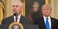Присяга нового госсекретаря США Рекса Тиллерсона