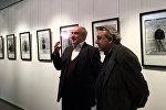 Выставка фотографа Германа Авакяна  Лица Тбилиси. Шейх Вагиф и Герман Авакян