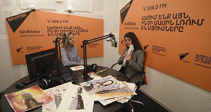 Юная армянская художница смешивает этно с современным стилем