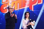 Гарик Мартиросян и участница конкурса Ты супер! из Армении Ангелина