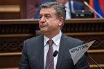 Карен Карапетян. Заседание Национального собрания РА, 08.02.2017