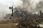 Съемки фильма Спитак, посвященного землетрясению в Армении