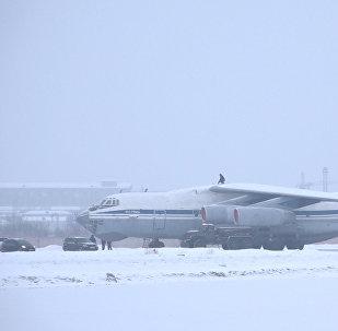 Армения направила в Сирию самолет с 18 тоннами гуманитарного груза