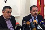 Армен Рустамян и Агван Варданян