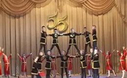 Армянский танец Берд в исполнении русских детей