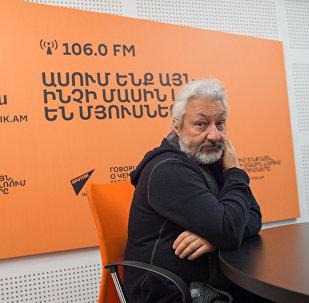 Стас Намин в гостях у радио Sputnik Армения