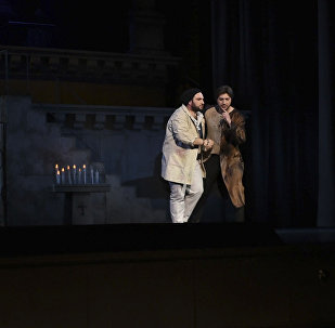 Sputnik рассказывает об опере Тоска Джакомо Пуччини в новой постановке на сцене театра оперы и балета имени Спендиаряна