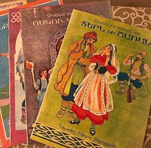 Книги Ованнеса Туманяна