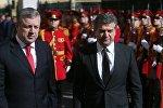 Премьер-министры Грузии и Армении Георгий Квирикашвили и Карен Карапетян
