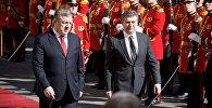 Премьер-министры Грузии и Армении провели встречу и брифинг в Тбилиси