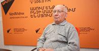 Эдуард Казарян в гостях у радио Sputnik Армения