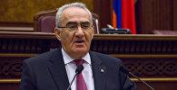 Галуст Саакян. Заседание Парламента РА, 27.02.2017