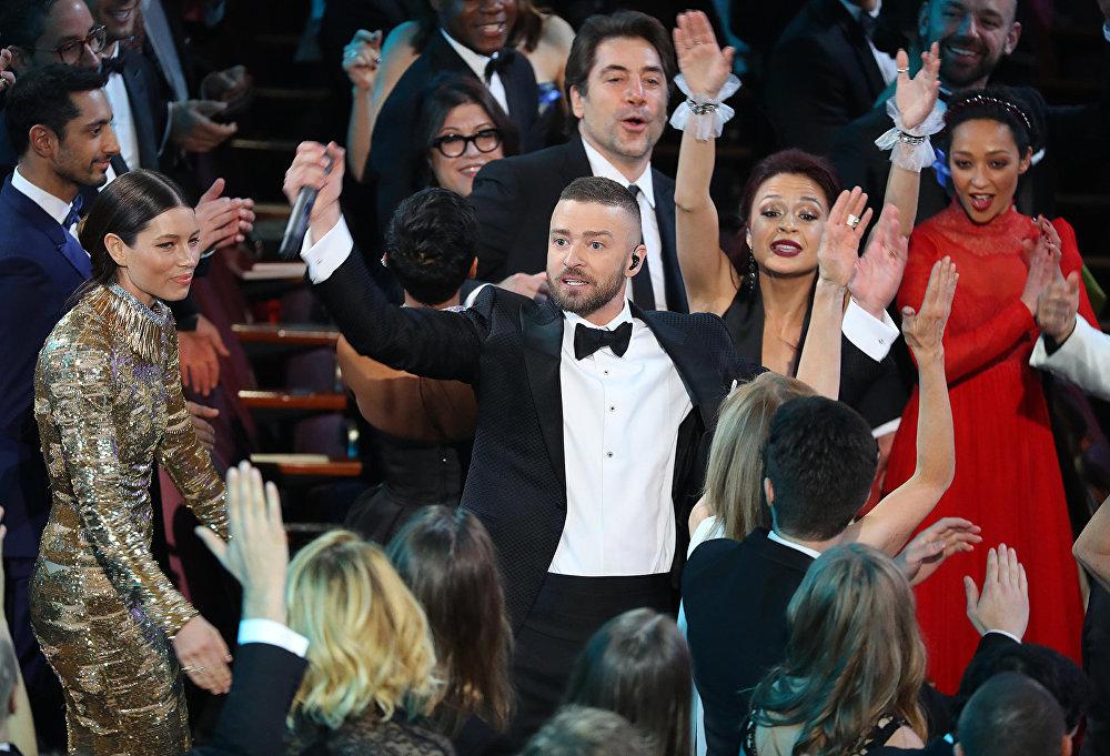 Джастин Тимберлейк. 89-ая ежегодная церемония вручения кинопремии Оскар
