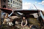 Серия фотографий армянского фотографа Юлии Григорянц, посвященная Гюмри