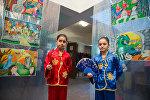 Выставка Китайские басни: рисуют армянские дети в Национальной детской библиотеке имени Хнко-Апера, организованная совместно с посольством КНР
