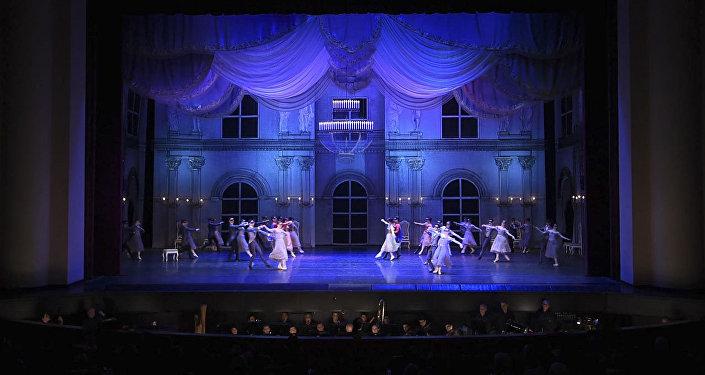 Состоялась премьера балета Маскарад на сцене театра оперы и балета им. Спендиаряна