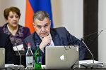 Давид Арутюнян. Заседание Правительства РА 09.03.2017