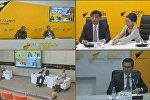 Видеомост по итогам заседания Евразийского межправительственного совета состоялся в пресс-центре