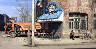 Здание бывшего ресторана Джраарс в Гюмри