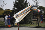 Крушение вертолета в Турции