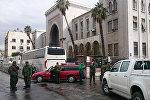 В здании Дворца правосудия в Дамаске прогремел взрыв
