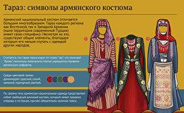Тараз: символы армянского костюма