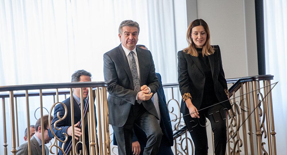 Карен Карапетян и Светлана Чупшева