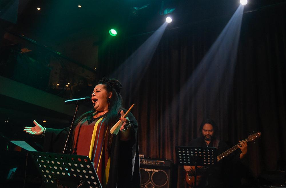 Марим Мерабова. Концерт в ереванском клубе Меццо
