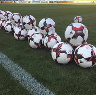 LIVE:Предматчевая пресс-конференция и тренировка сборных Армении и Казахстана по футболу