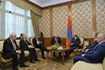 Президент Серж Саргсян принял членов Минской группы ОБСЕ
