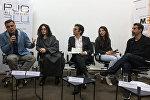 Члены организации  организации Гражданин-наблюдатель Эрик Назарян, Арсине Ханджян, Атом Эгоян и Серж Танкян