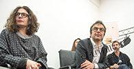 Члены организации Гражданин-наблюдатель Арсине Ханджян, Атом Эгоян и Серж Танкян