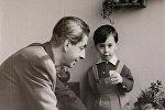 Микаэл Таривердиев с сыном Кареном