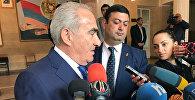 Галуст Саакян проголосовал на выборах в НС РА
