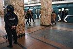 В московском метро усилили меры безопасности