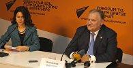 Конференция Константина Затулина состоялась в пресс-центре Sputnik Армения